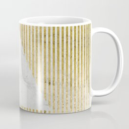 inverse trian gold Coffee Mug