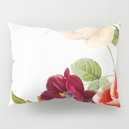 romantic floral design Pillow Sham