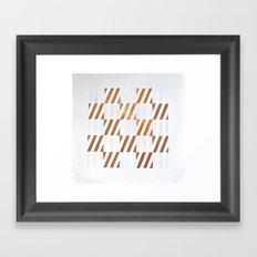Cuadros optart Framed Art Print