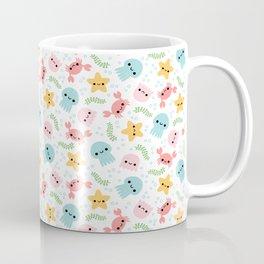 Happy Sea Creatures Coffee Mug