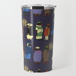Victorian Penguins Travel Mug
