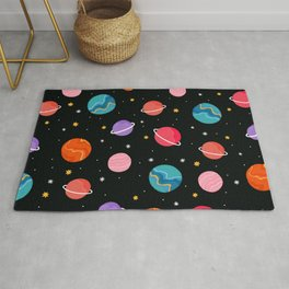 Colourful Space Rug