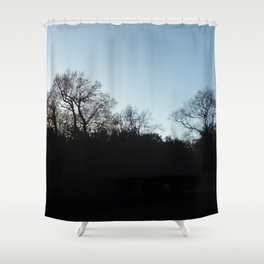 Nature, landscape and twilight 2 Shower Curtain