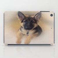 german iPad Cases featuring German Shepherd by Judith Lee Folde Photography & Art