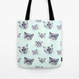 Some grey cats Tote Bag