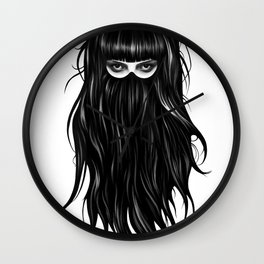 It Girl Wall Clock