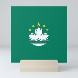 Flag of Macau Mini Art Print