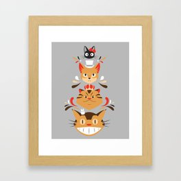 Studio Kitty Framed Art Print