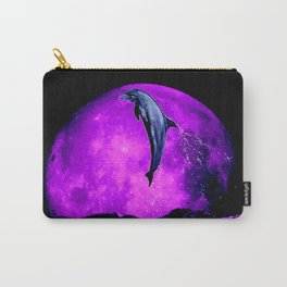 moonstruck dolphin - magician of seas Carry-All Pouch