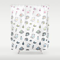 alchemy Shower Curtains featuring Alchemy by Heiko Windisch