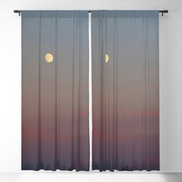 Moon Colors Blackout Curtain