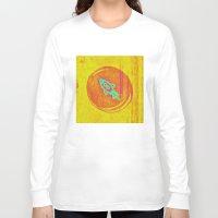rocket Long Sleeve T-shirts featuring  * Rocket * by Mr & Mrs Quirynen