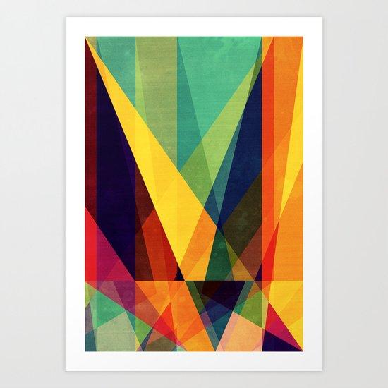 Shine one me Art Print