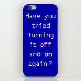 Tech suppor iPhone Skin