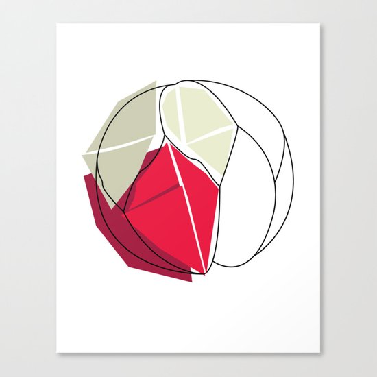 Cartacce Canvas Print