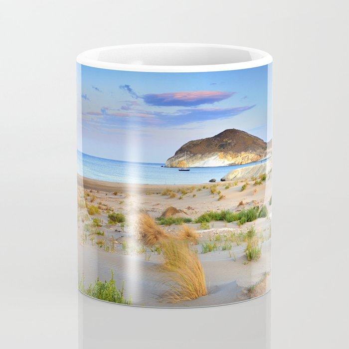 """Genoveses Beach"" Sunset at beach Coffee Mug"