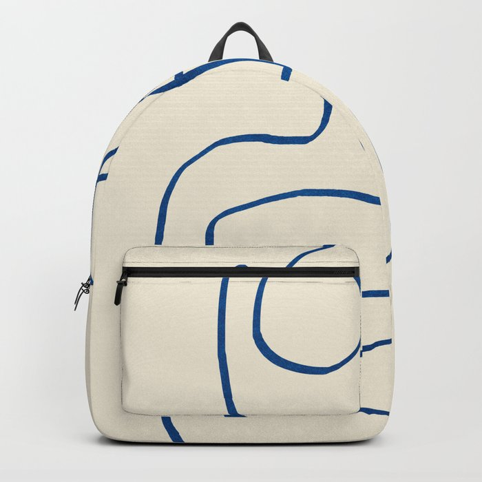 Abstract line art 16 Backpack