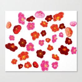 Quince flower Canvas Print