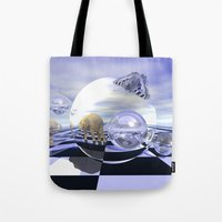 imagine Tote Bags featuring Imagine by thea walstra