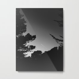 The Aerial Trail Metal Print