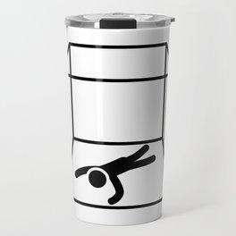 Stuck Inside A Box Travel Mug