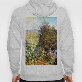 Claude Monet : A Corner of the Garden at Montgeron Hoody