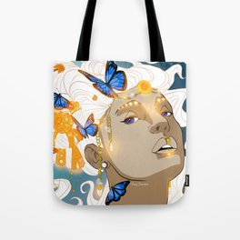 Butterflies Amazon Tote Bag