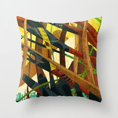 The Panther's Claws Throw Pillow