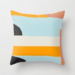Mid Century Print, Minimalist Print, Mid Century Modern, Modern Print, Modern Art, Minimalist Art, S Throw Pillow