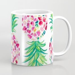 Colorful Pineapples Coffee Mug