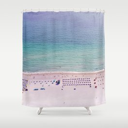 The Blue Ocean Shower Curtain