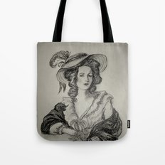French Sketch IV Tote Bag