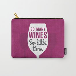So Many Wines Carry-All Pouch