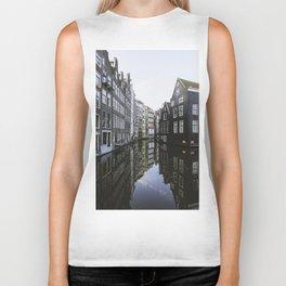 Waterways of Amsterdam Biker Tank