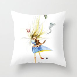 HOLD ON TOTO Throw Pillow