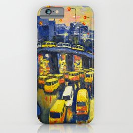 A Section Of The Busy Lagos Metropolis iPhone Case
