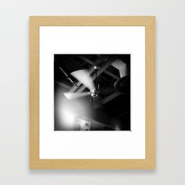 Counter Clockwise Framed Art Print