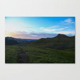 Dawn On Uncompahgre Peak Canvas Print