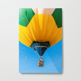 Brazil balloon Metal Print