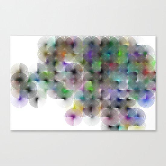Written Circles #2 society6 custom generation Canvas Print