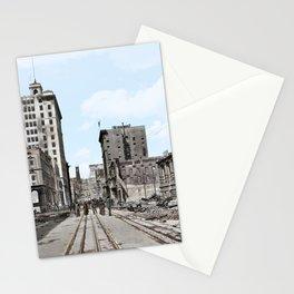 San Francisco Devastation c.1906 - Colourised Stationery Cards