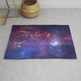 the milky hand of the spiral | space 010 Rug