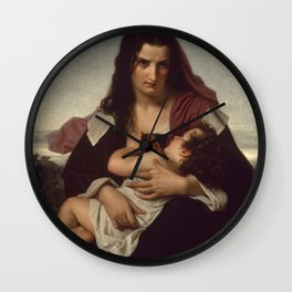 Hugues Merle - The Scarlet Letter Wall Clock