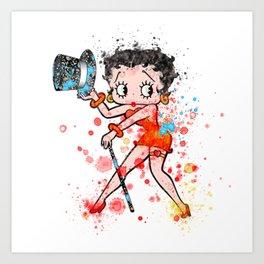 Betty Boop  Kunstdrucke