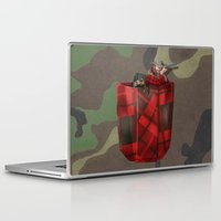 hunter Laptop & iPad Skins featuring Hunter by Piotr Burdan