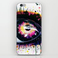 "pixies iPhone & iPod Skins featuring ""Follow me into wonderland"" by PeeGeeArts"