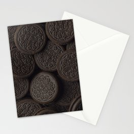 Delicious Chocolate Cookies Stationery Cards