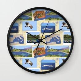 Parcu di Corsica Wall Clock