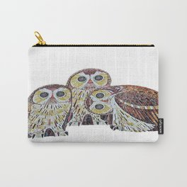 Three Owls - Art Nouveau Inspired by Klimt Carry-All Pouch