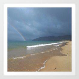 Narin Portnoo Beach Donegal Ireland Art Print